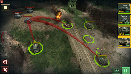 Armor Age: Tank Wars — WW2 Platoon Battle Tactics Apk Download For Android and Iphoe 7