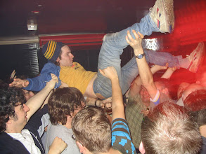 Photo: yes Crowd Surfing at the Asylum!