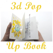 3D Pop Up Book Design icon