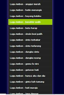 Lagu Daerah - Ambon Maluku Terbaru - náhled