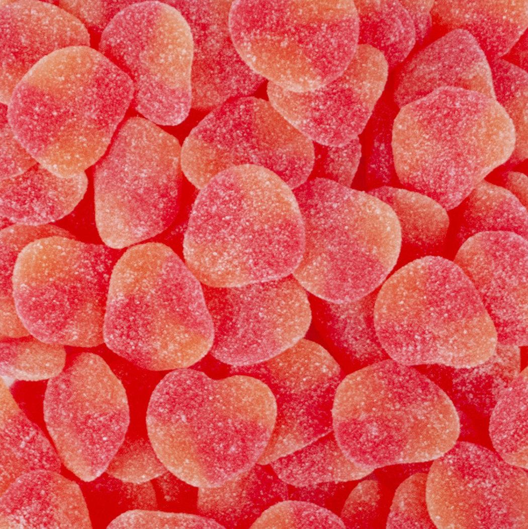 christmas-candy-haribo-gummi-peaches