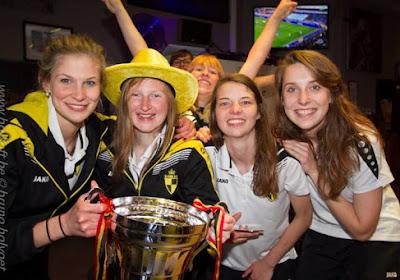 Lierse wint van Anderlecht in finale Beker van België, wat tot een feestje leidde