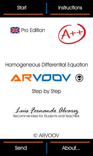 Homogeneous Diff Equation