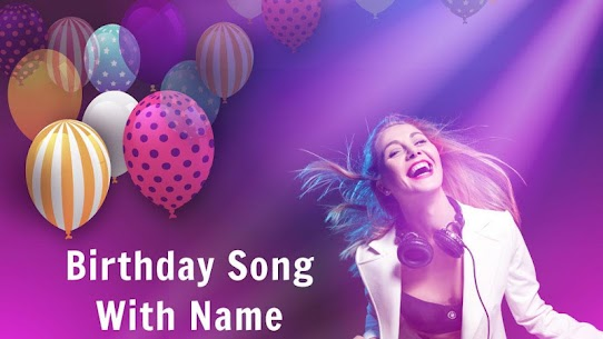 Happy Birthday Wishes – Birthday Song With Name 1.21 Mod APK Updated 1