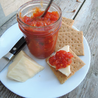 Honeyed Tomato-Jalapeno Jam.