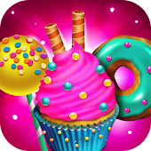 Candy Dessert Bakery Store - Make & Cook Kids Game