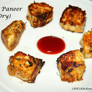 Dry Tawa Paneer (Pan-Fried Cottage Cheese) Recipe