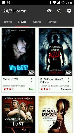 247 Horror Movies 9.8 screenshots 3