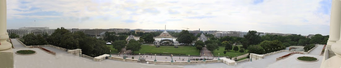 Photo: 180 degree view from the Capital Speaker's Balcony