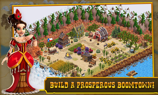 Goldrush:Settlers Rush! Screenshot