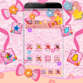 Fancy Pink Bow Theme