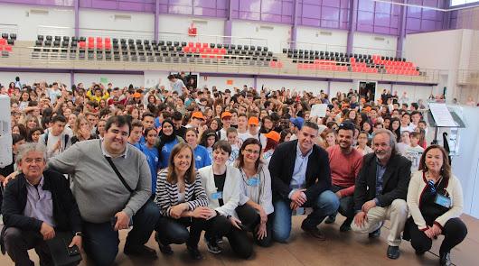 Encuentro de Mediación Escolar en Viator de 650 alumnos de secundaria