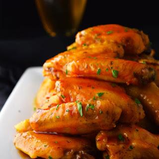 Crispy Baked Honey Buffalo Wings Recipe