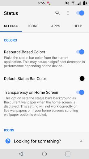 Status 3.6 screenshots 1