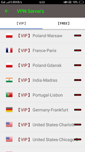 VIP Turbo VPN - Unlimited Free Vip Vpn screenshot 6