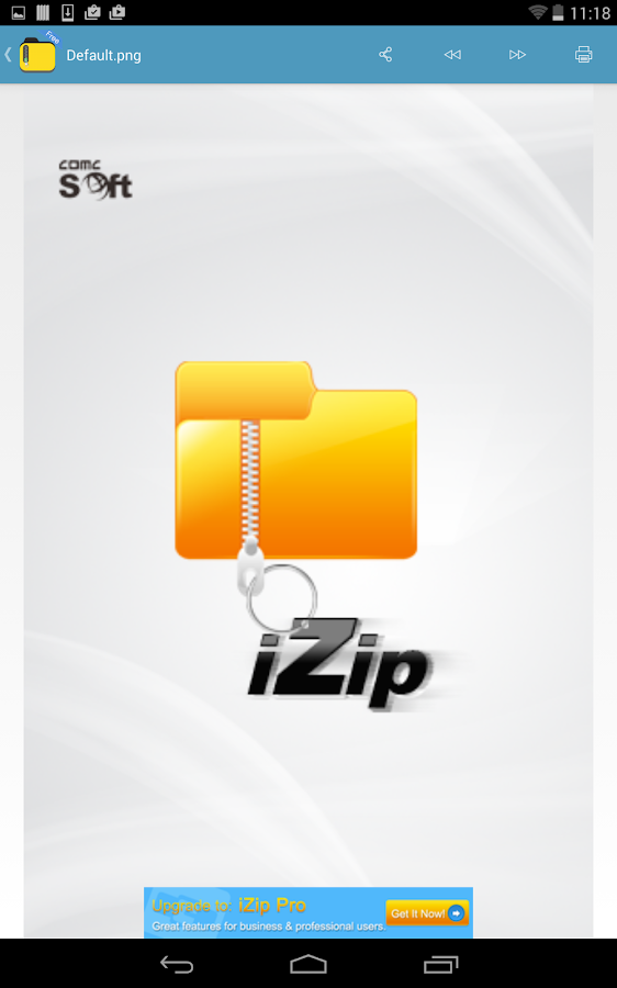 iZip - Zip Unzip Tool- screenshot