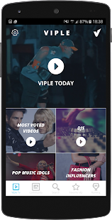 Viple - Social TV- screenshot thumbnail