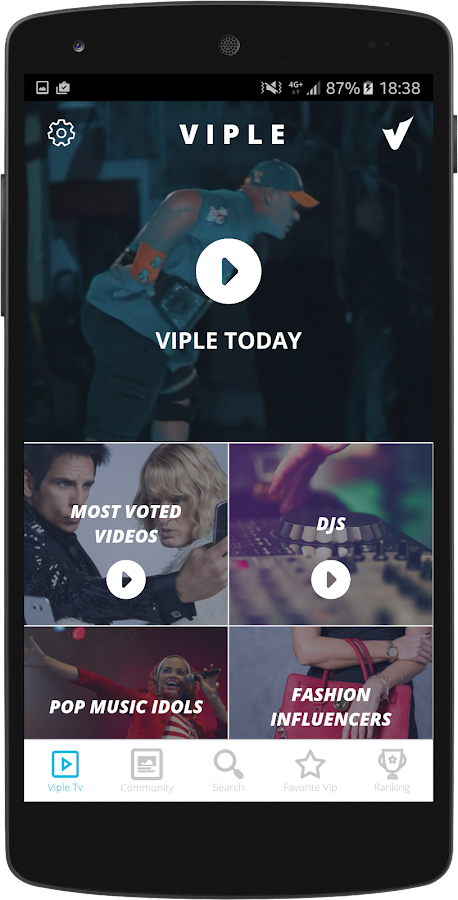 Viple - Social TV- screenshot