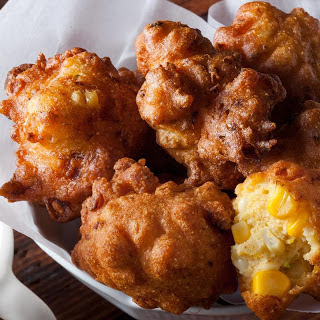 Crispy Corn Fritters Recipe