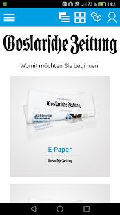 Goslarsche Zeitung e-Paper - náhled