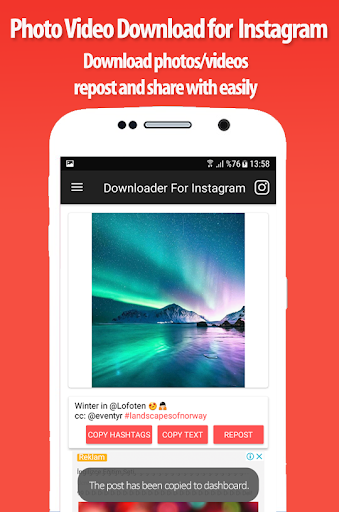 Download photos and videos for Instagram 1.2 screenshots 3