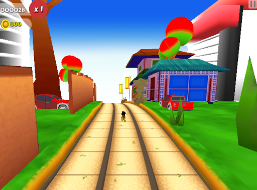 Run Subway : Ninja Target