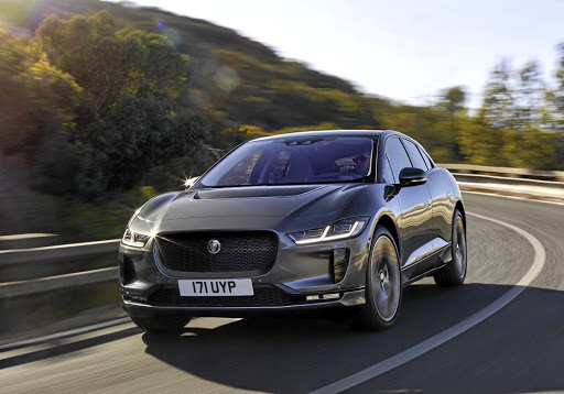 The production version of the I-Pace is remarkably close to the concept. Picture: NEWSPRESS UK