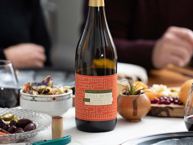 Still Blend Wine Label Inspiration