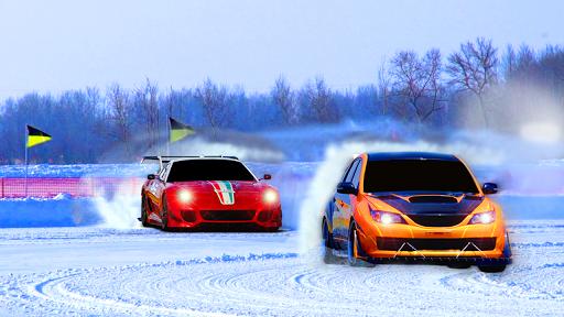 トップ キング 雪 ドリフト アクション レースゲーム