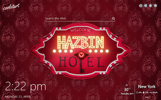 Hazbin Hotel HD Wallpapers Web Series Theme