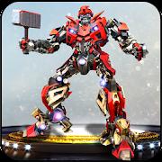 Real Robot Transformation – Hammer Superhero Game