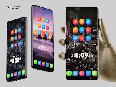 One4KWGT Ultimate Mod Apk – free widgets for KWGT 1