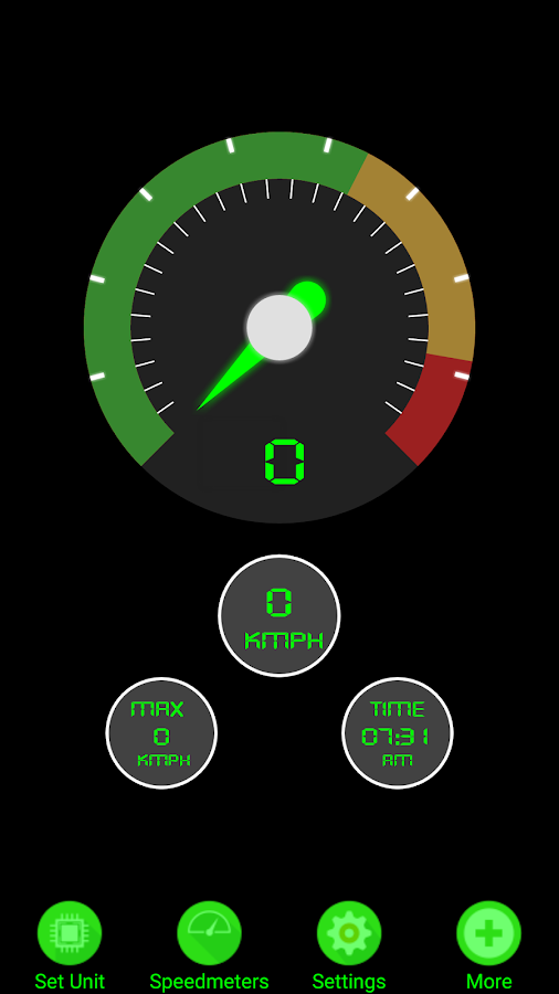 My Speed Meter- screenshot