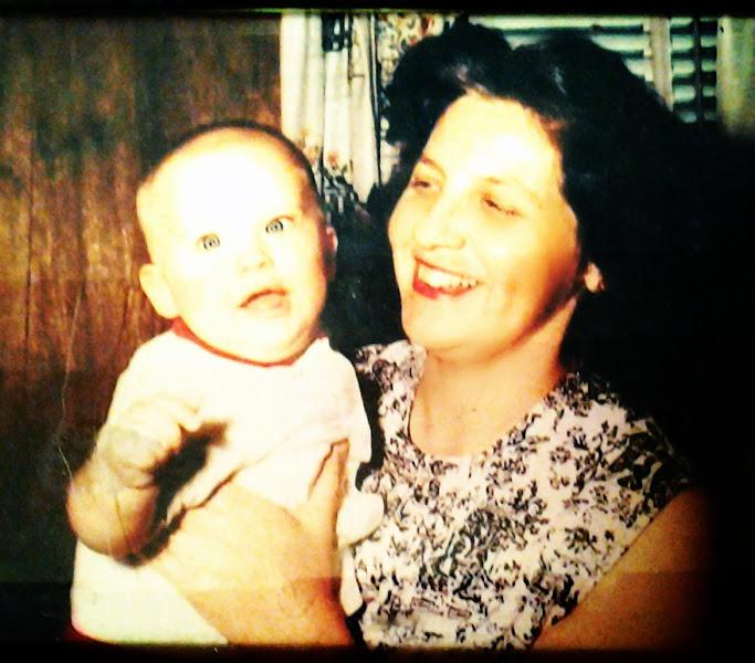 Photo: me and mom