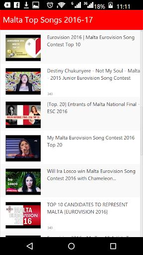 Malta Top Songs