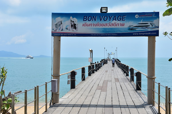 Depart from Na Phralarn Pier in the north of Koh Samui