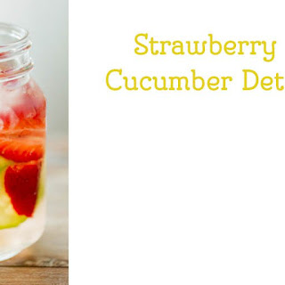 Strawberry Lemonade Cucumber Water