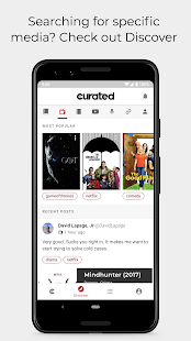 Curated - Discover, save & share quality content Screenshot