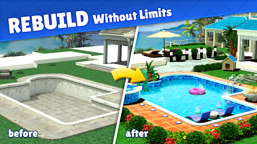 Home Design : Caribbean Life screenshots 2