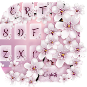 Cherry Blossom Keyboard Theme