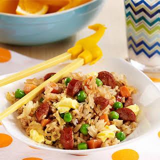 Hot Dog Fried Rice.