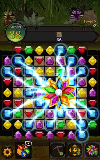 Secret Jungle Pop : Match 3 Jewels Puzzle 1.2.5 screenshots 8