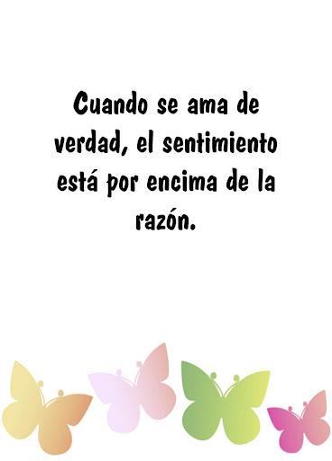 スペイン語で真の愛の引用符