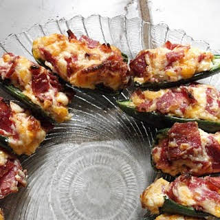 Bacon Cheddar Jalapeno Poppers Appetizers.
