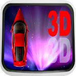 The 3D Car Race Icon