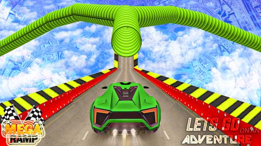 Impossible Dangerous Tracks Real Crazy Cars Stunt  captures d'écran 1