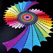 Knitting crochet napkins