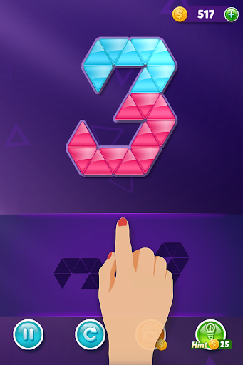 Block! Triangle puzzle: Tangram  trampa 2