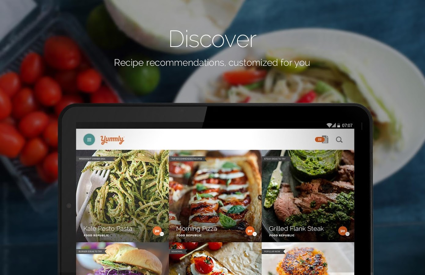 Yummly Recipes & Shopping List- screenshot