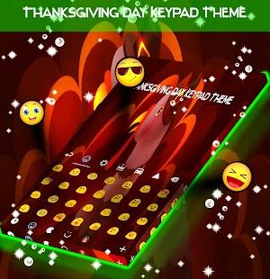 Thanksgiving Day Keypad Theme - náhled